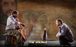 The Soloist portrays homeless man receiving a free home